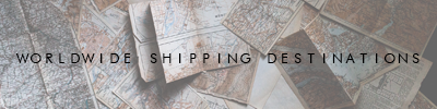 International shipping destinations