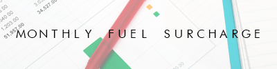 Monthly fuel, surcharge, courier, Impact Express