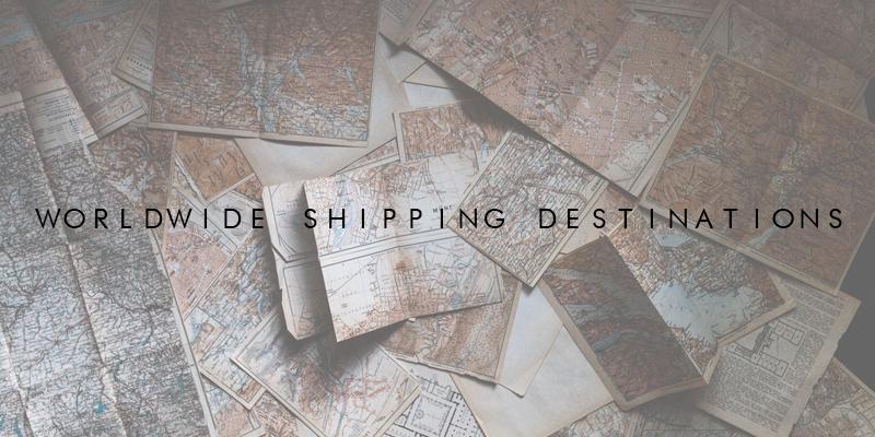 Worldwide Shipping Destinations