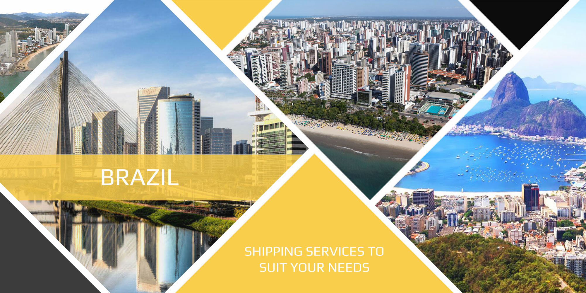 Shipping to Brazil country banner
